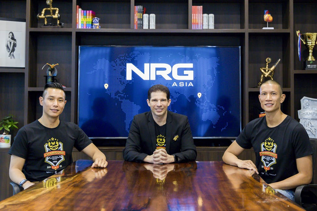 CMG.ASIA announces their newest business investment creating NRG ASIA & its first acquisition of Esports GAM team, VCS League Of Legend Champion 2021